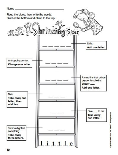 Enterprising image with regard to word ladder printable