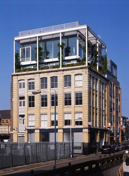 The Green Clere Street Penthouse Designed By Tonkin Liu Low Rise Living Pinterest