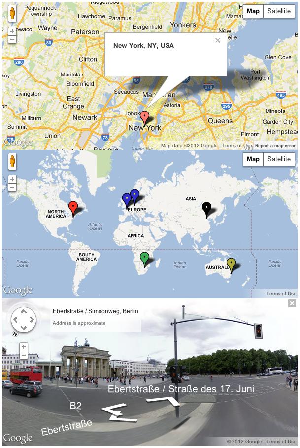Multiple Marker Generator World Map Mural Map Murals