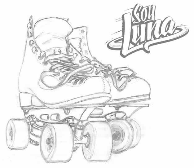 Colorear A Soy Luna Juegos De Soy Luna Dibujos De La Luna Soy