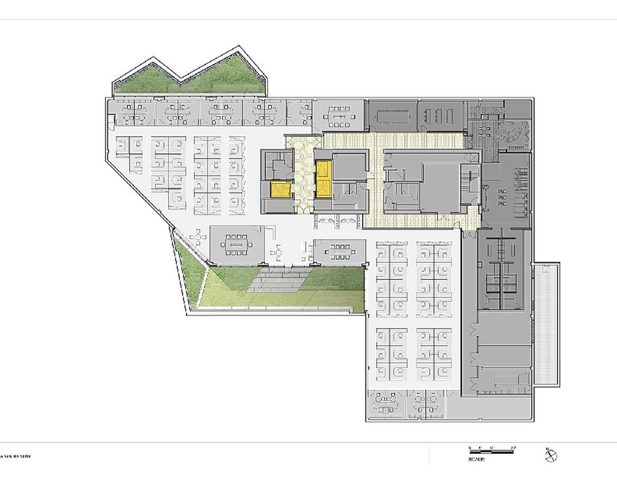modern office floor plans. Plans 21 Originally Shaped Office Building In New Jersey: Centra Metropark Modern Floor O