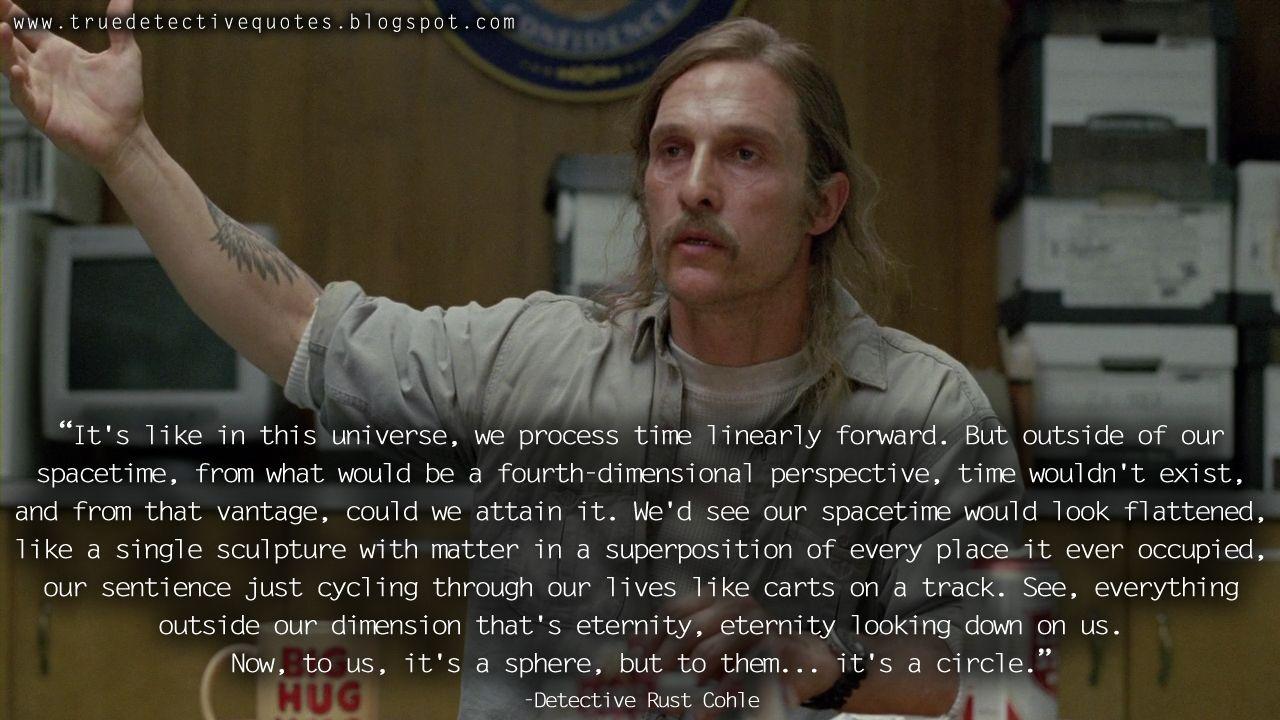 True rust detective quotes cohle 'True Detective':