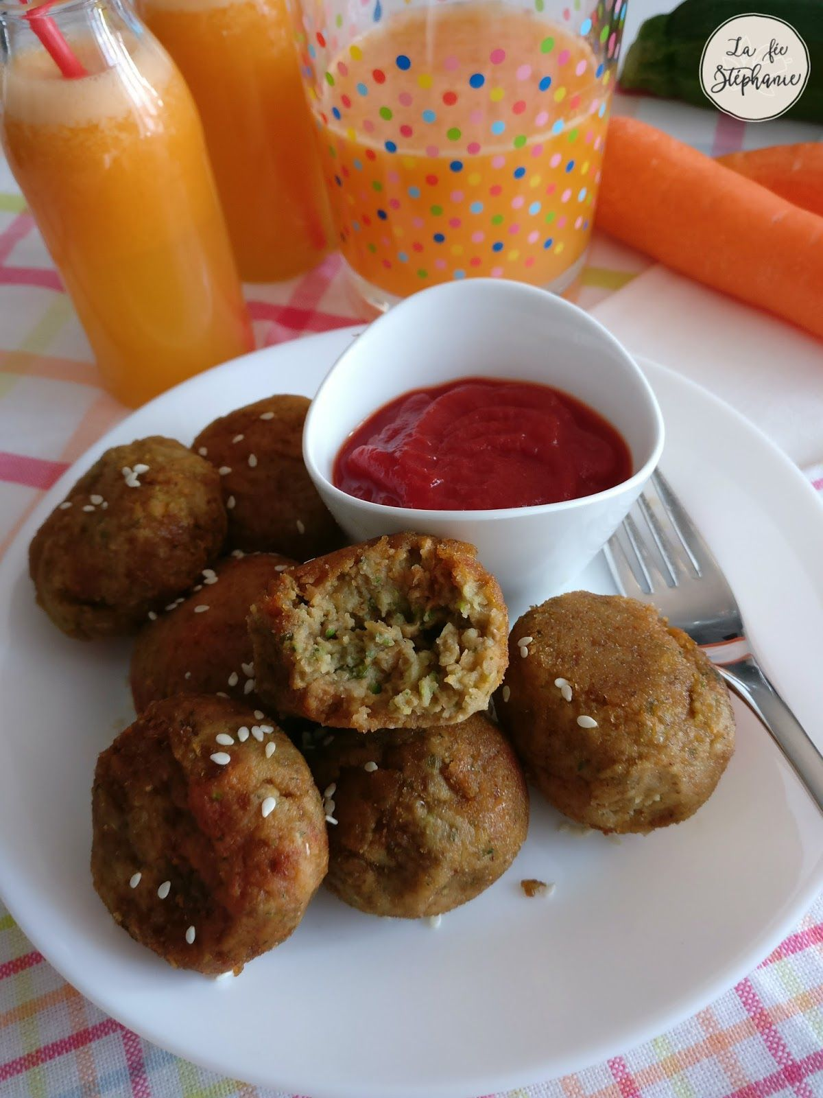 Boulettes de lentilles et de légumes, une recette végétale pour les plus petits!
