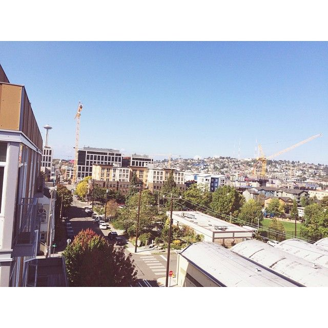 Gorgeous fall day here from our office balcony! #autumn #agencylife