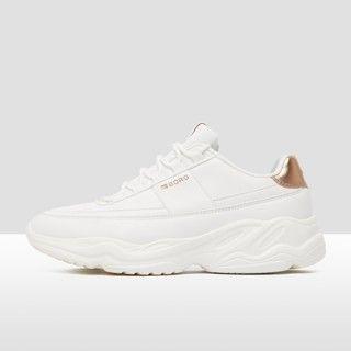 sneakers wit goud