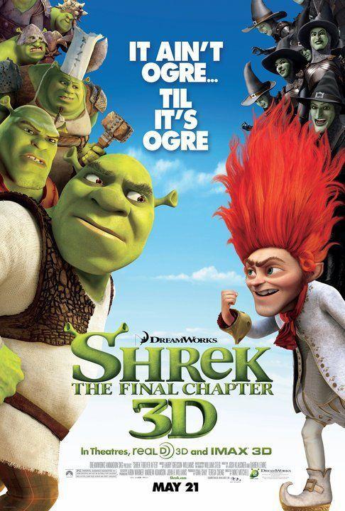 Shrek 4 Shrek Peliculas Peliculas De Disney