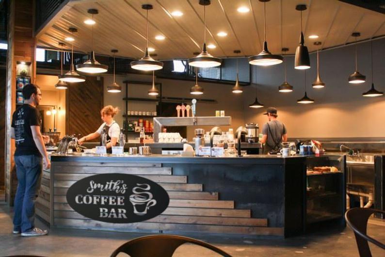 Personnalisé tea shop signe personnalisé café signe vintage tea shop sign