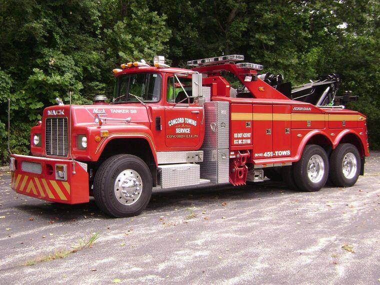 Concord towing service concordville pa 1988 mack r
