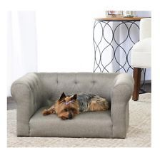Couch Bed For Dogs Pets Furniture Cat Doggie Small Mini Sofa Hypoallergenic Grey Dog Beds For Small Dogs Dog Furniture Dog Bed