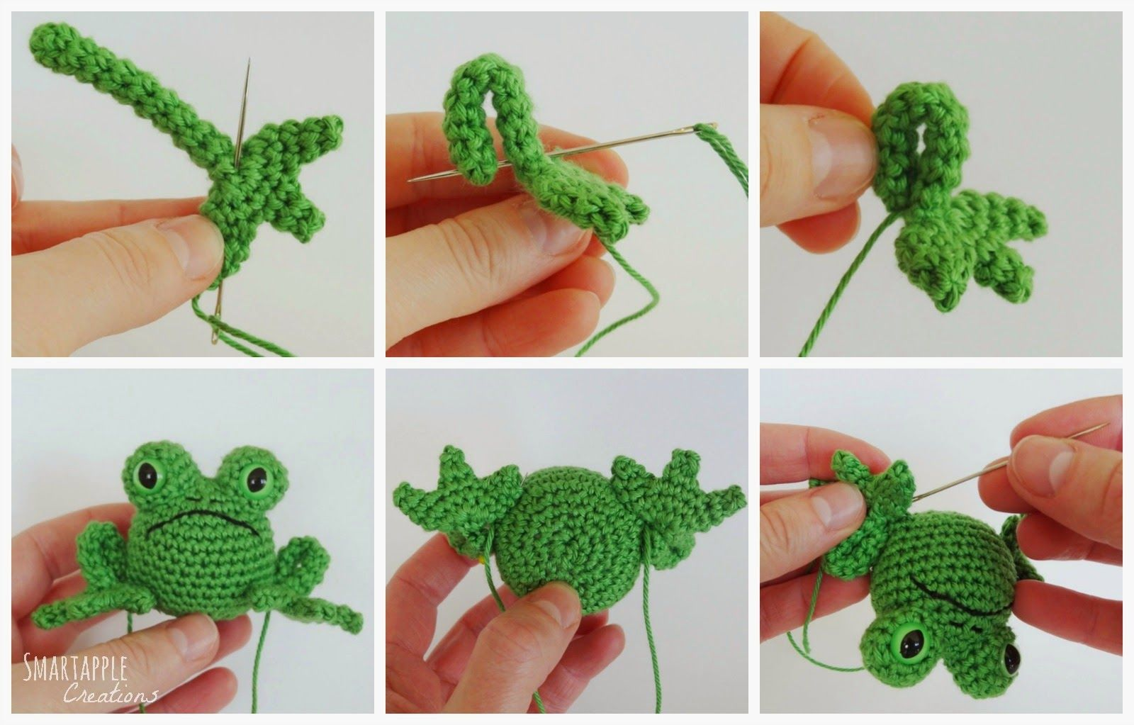 Smartapple Amigurumi and Crochet Creations: Free pattern - Fred the ...