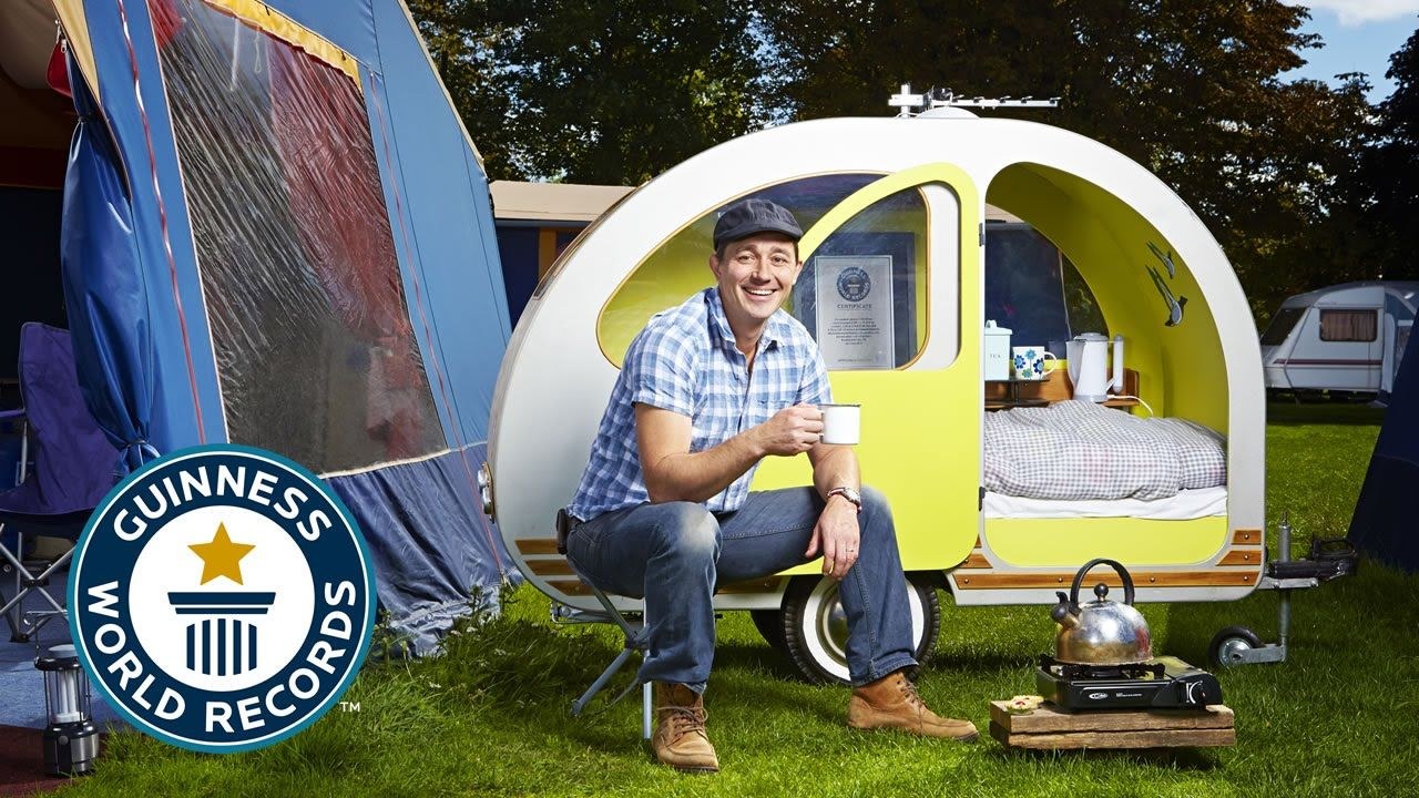 the worlds smallest caravan guinness world records 2015 - Smallest House In The World 2015