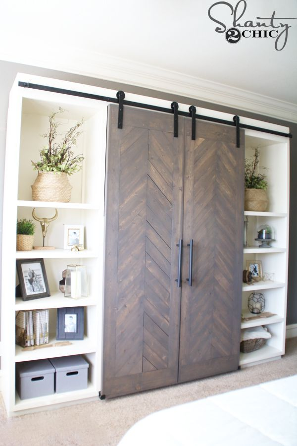 I Like The Idea Of Adding Barn Doors To A Murphy Bed For The Guest Room