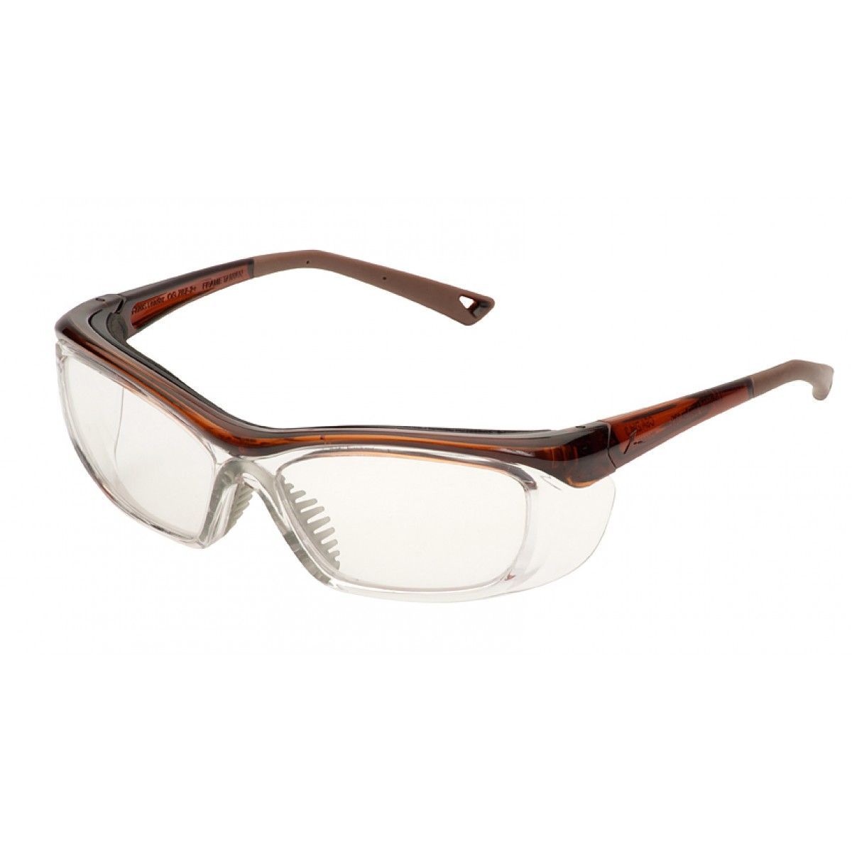 3m safety glasses prescription frames onguard 220s prescription safety glasses clear chestnut brown