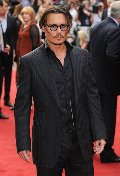 Johnny Depp...I loved him in the pirates of the carabean series!❤ Can't spell dat^haha