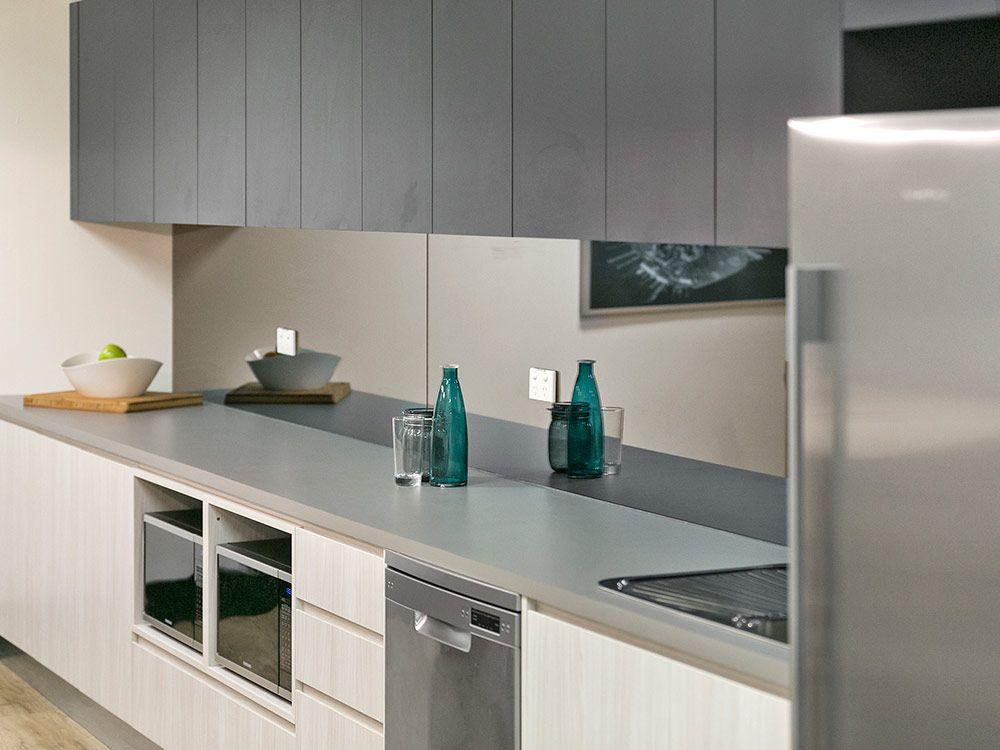 Elegant kitchen doors in polytec Bleached Walnut Ravine & Elegant kitchen doors in polytec Bleached Walnut Ravine | Modern ...