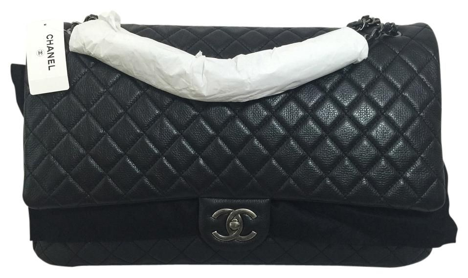 804b3f8c2301 Get one of the hottest styles of the season! The Chanel Xxl Jumbo Classic  Flap Shoulder Bag is a top 10 member favorite on Tradesy.