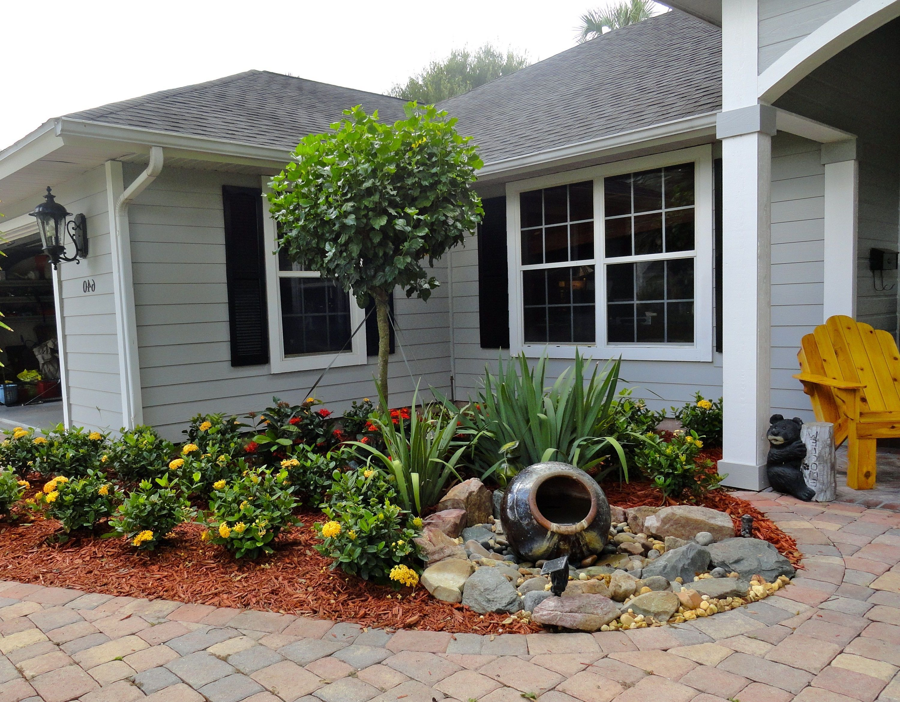 Good Front Yard Landscaping Ideas On A Budget Part - 3: Small Backyard Landscaping Ideas On A Budget