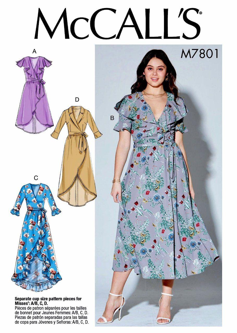 2ec2e9f288f New Sewing Pattern Women s Wrap Dress Pattern