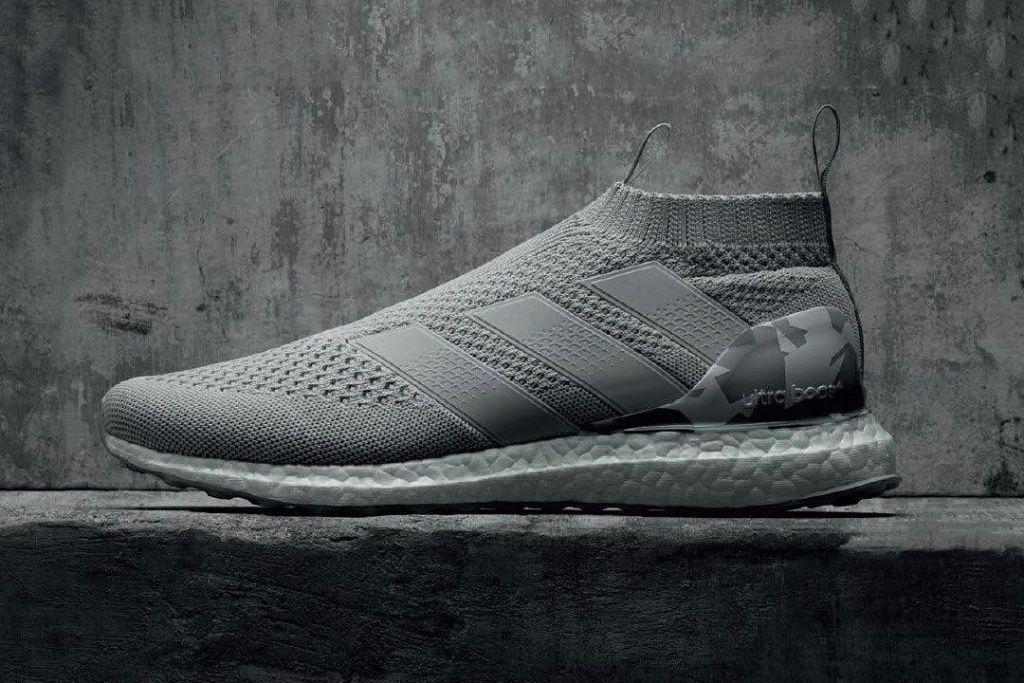 Adidas Unleashes The Ace 16 Purecontrol Ultraboost In Grey Camo Sko Toj