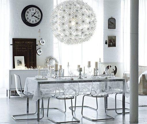 decoracin mesa de navidad ikea