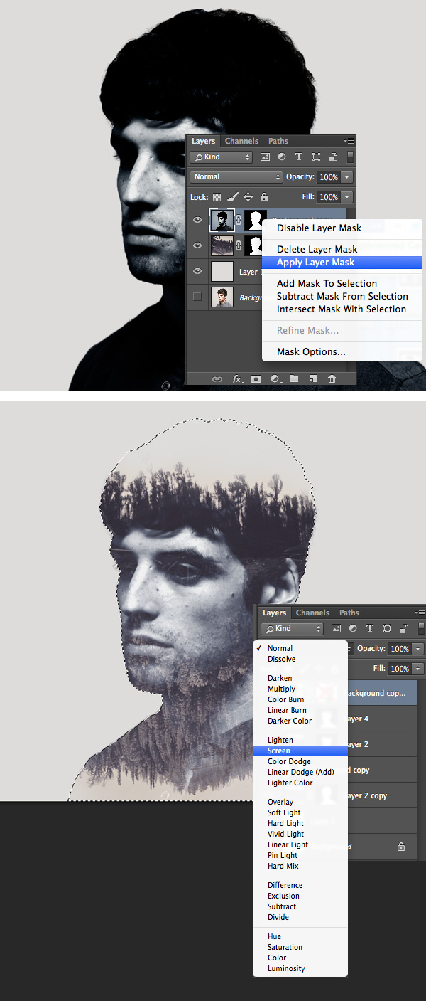 Double Exposure in Photoshop – How to Do Double Exposure in Photoshop Well
