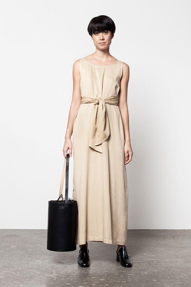 Shaina Mote Tie Dress Creatures Of Comfort Billy Shoe Building Block Basket Bag