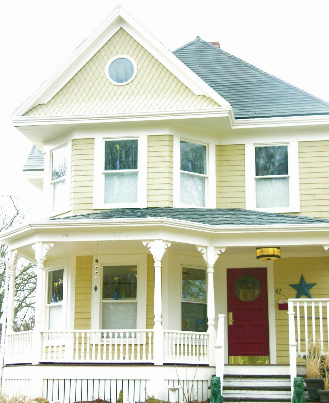 Go Natural Be Well Open Windows Exterior House Colors Victorian House Colors House Exterior