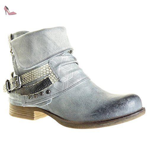 Angkorly - Chaussure Mode Sandale femme pom-pom brodé Talon compensé 1.5 CM - Fuschia - WH828 T 41 QI7gTZD7T