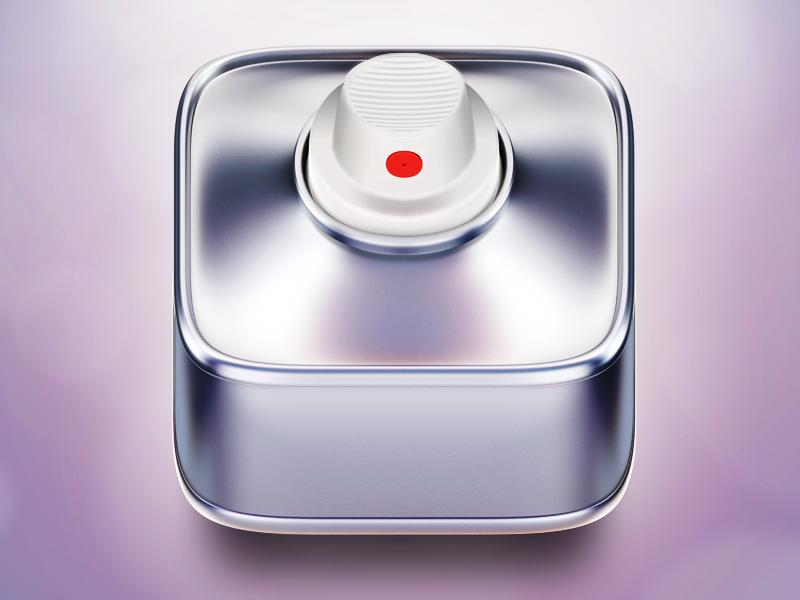 the use of gradients make this app look like metal. it