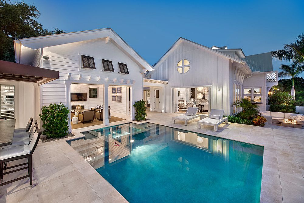 Beautiful Pool House Decorating Ideas On A Budget 2 Pool Houses Pool House Outdoor Rooms