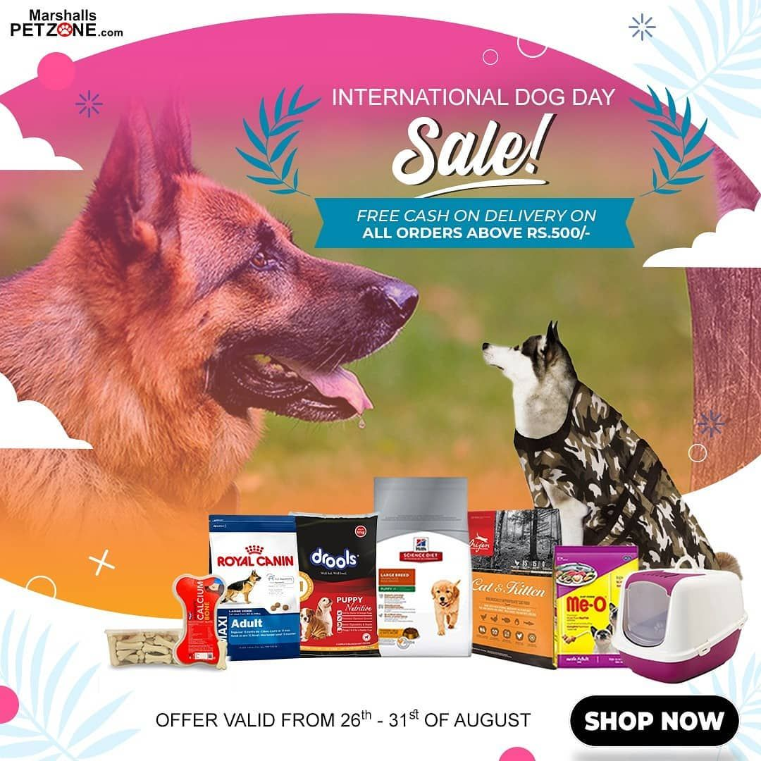 Month End Crunch Stops You From Shopping Now Get Free Cod On Purchases Over Rs 500 From The 26th To The 31st Of August 2019 Offer Pets Buy Pets Food Animals