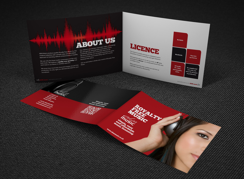 Akm Music Brochure  Brand  Corporate  Web    Brochures