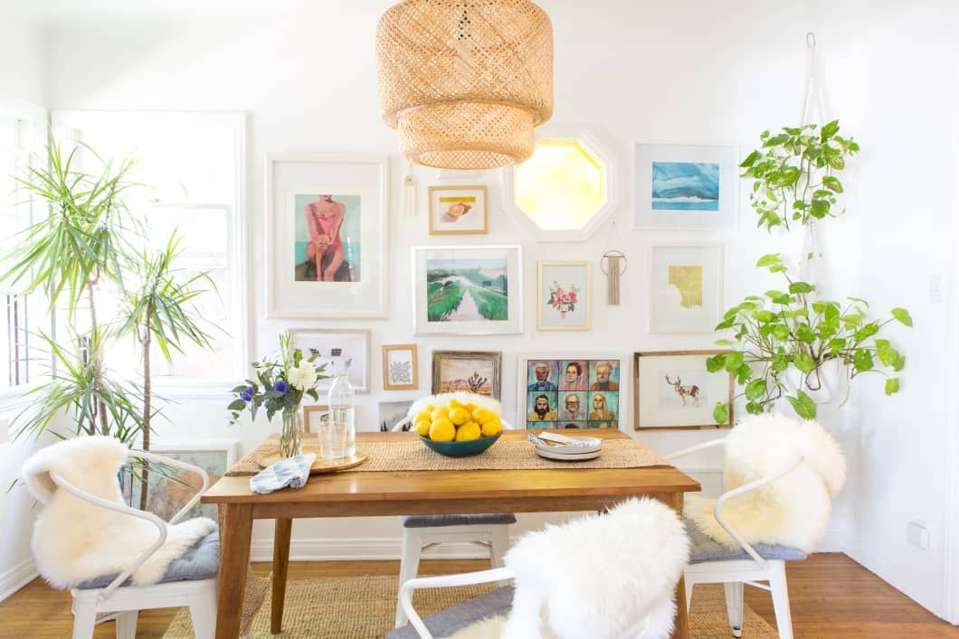 Walmart Has A Hidden Section Filled With Stunning Natural Home Decor Yes There S Rattan And It S 50 Off Right Now Boho Dining Room Dining Room Decor Farmhouse Dining Room