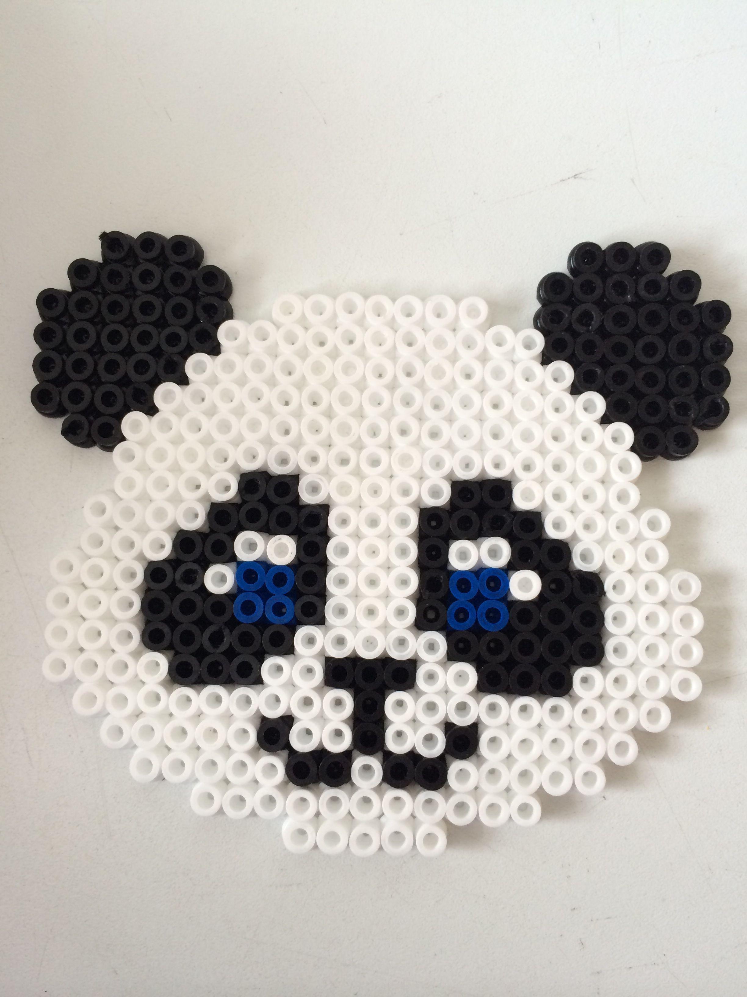 pärlplattor panda