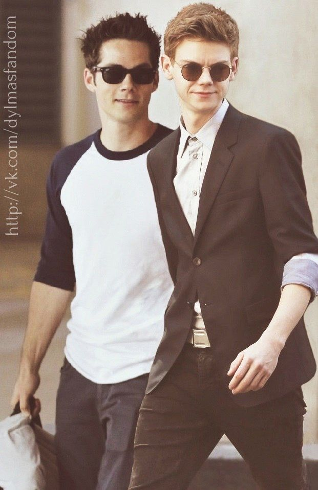 Dylan and Thomas #TheMazeRunner