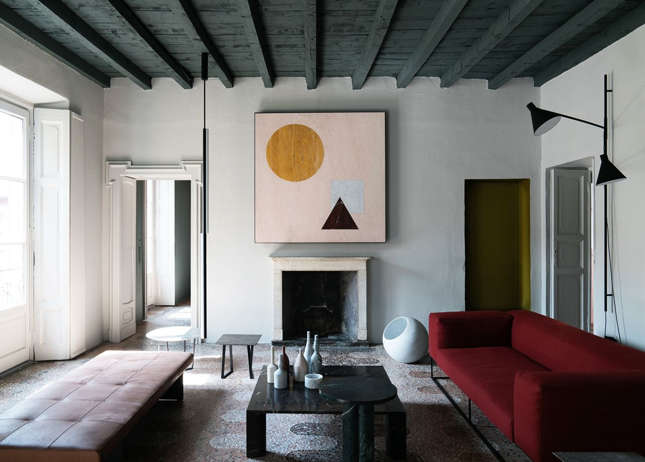 Salvatori apartment, styled by Elisa Ossino. Luxury Interior DesignLuxury  ...