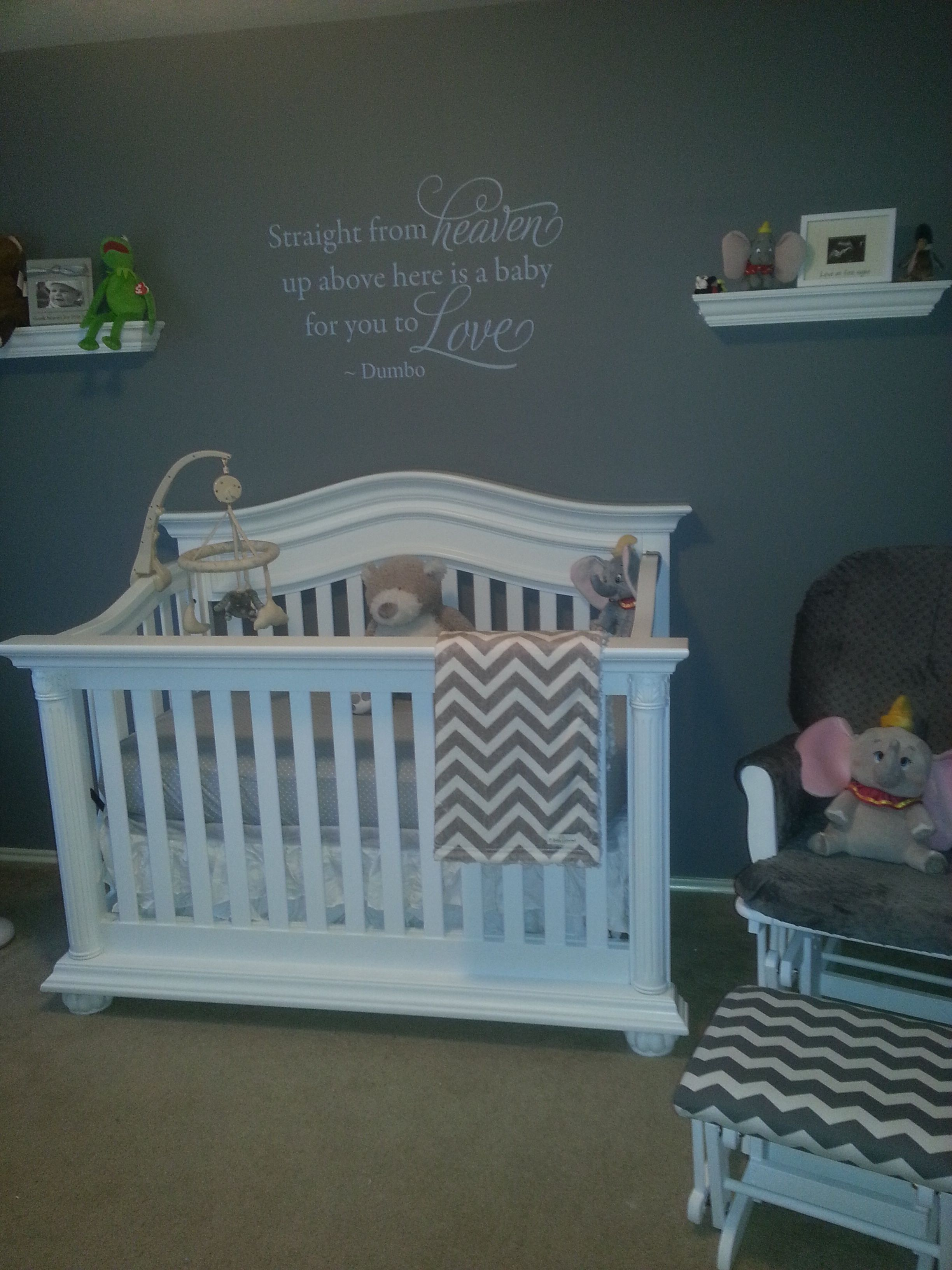 Our Little Baby Boy S Neutral Room: Gavin's Dumbo Nursery