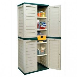 6ft Waterproof Lockable Garden Storage Cabinet Shed Garden Storage Cabinet Lockable Cabinets Patio Storage