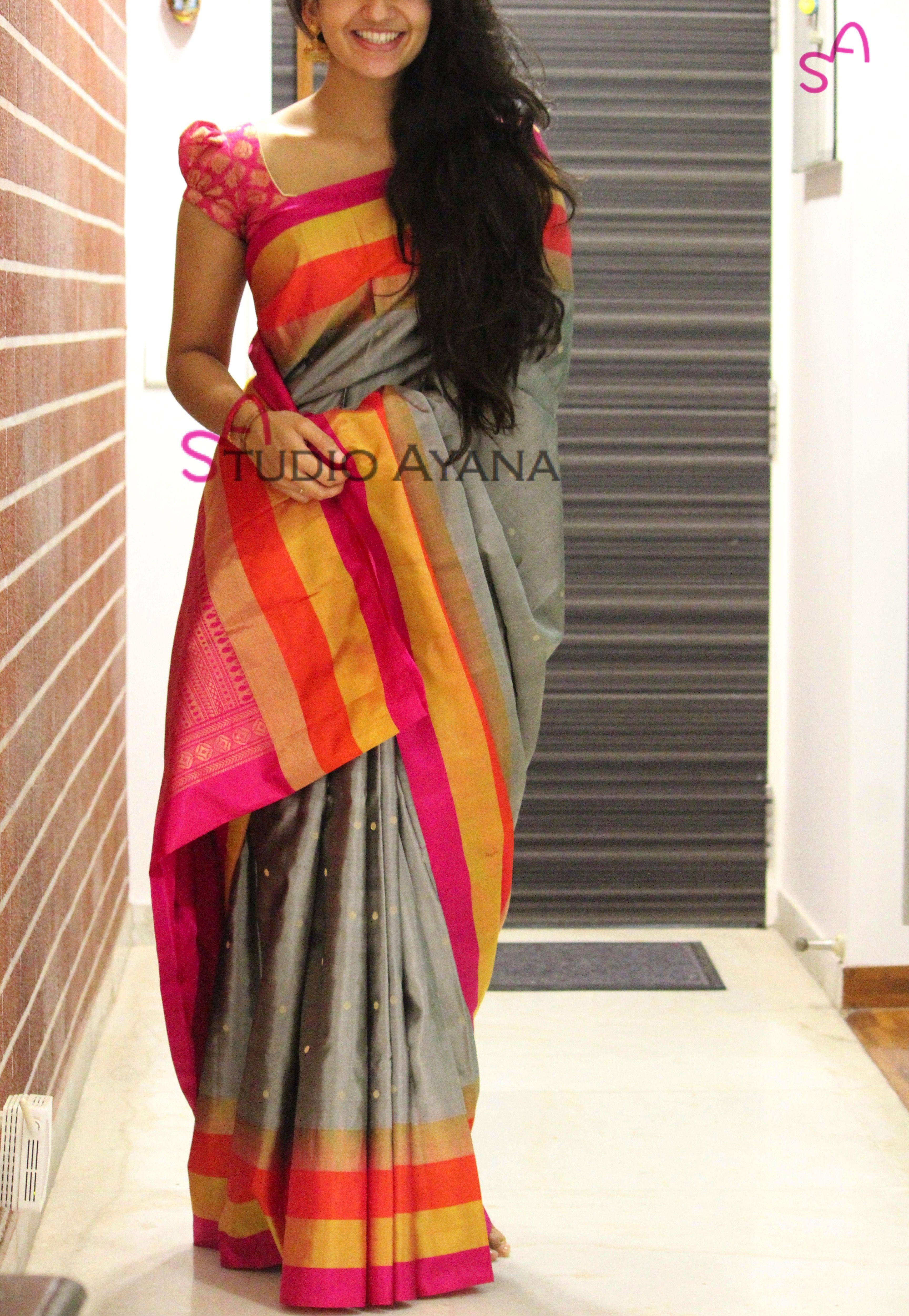 Border Work Silk Sarees Online Saree Designs Designer Silk Sarees Womens Western Wear Dresses