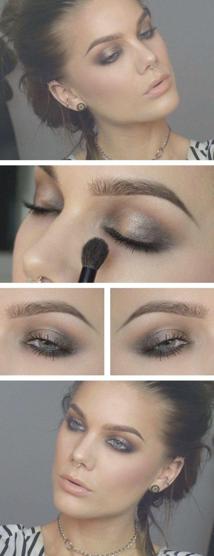 Smokey Eye Makeup Mac at Makeup Geek Glitz Идеи макияжа
