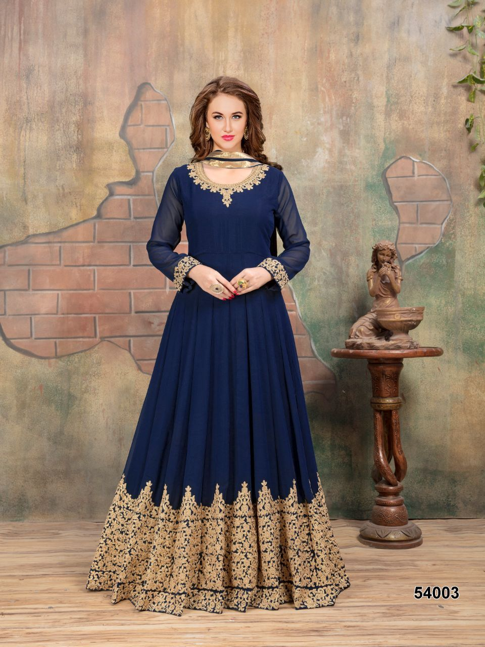 eb325d106d Shop Anarkali Gown Aanaya 54000 Series Online with the best price. Flaunt  latest styled cuts and look with these Indian Dresses, Give yourself the  stylish ...