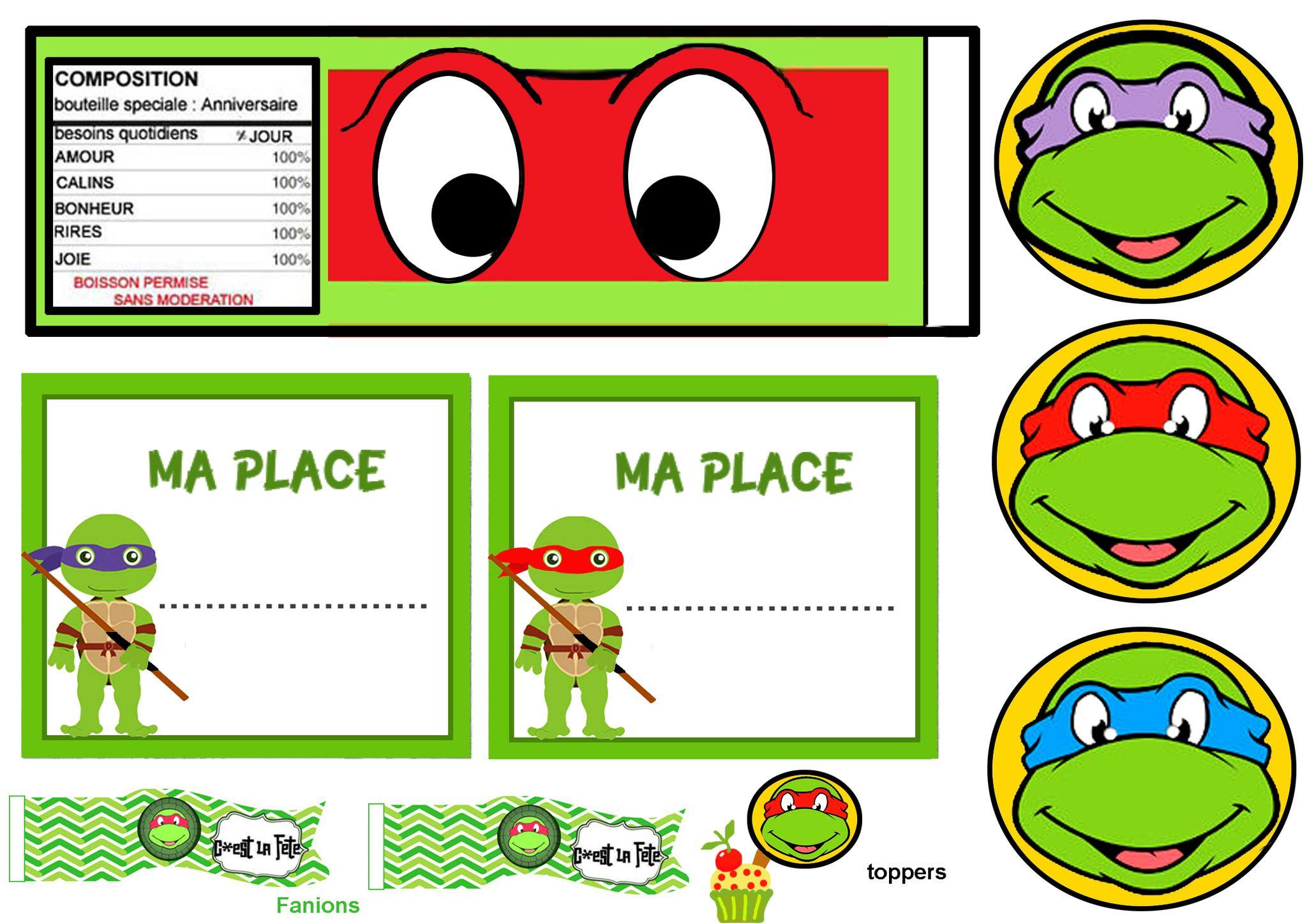Frais Image tortue Ninja A Imprimer