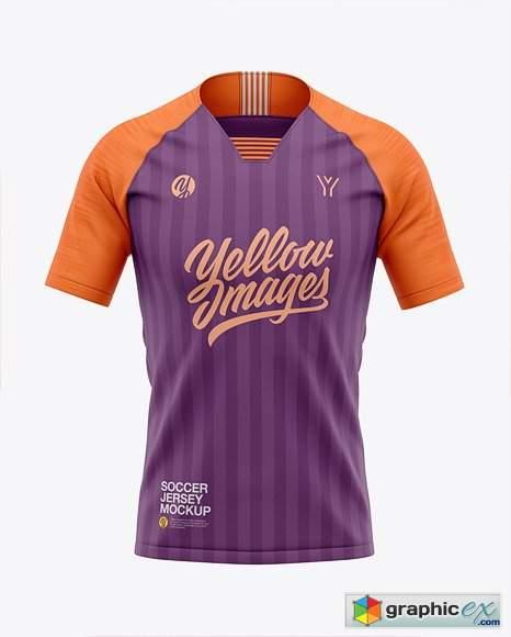 Download Men S Soccer Raglan Jersey Mockup Free Download Camisas De Futebol 3d Templates Esportes