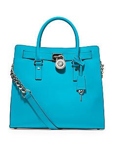 Michael Kors Hamilton Large North South Tote Belk Blue