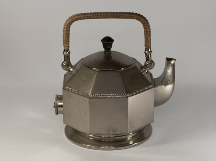 Teapot Octagonal Aeg Electric Kettle By Peter Behrens 1909