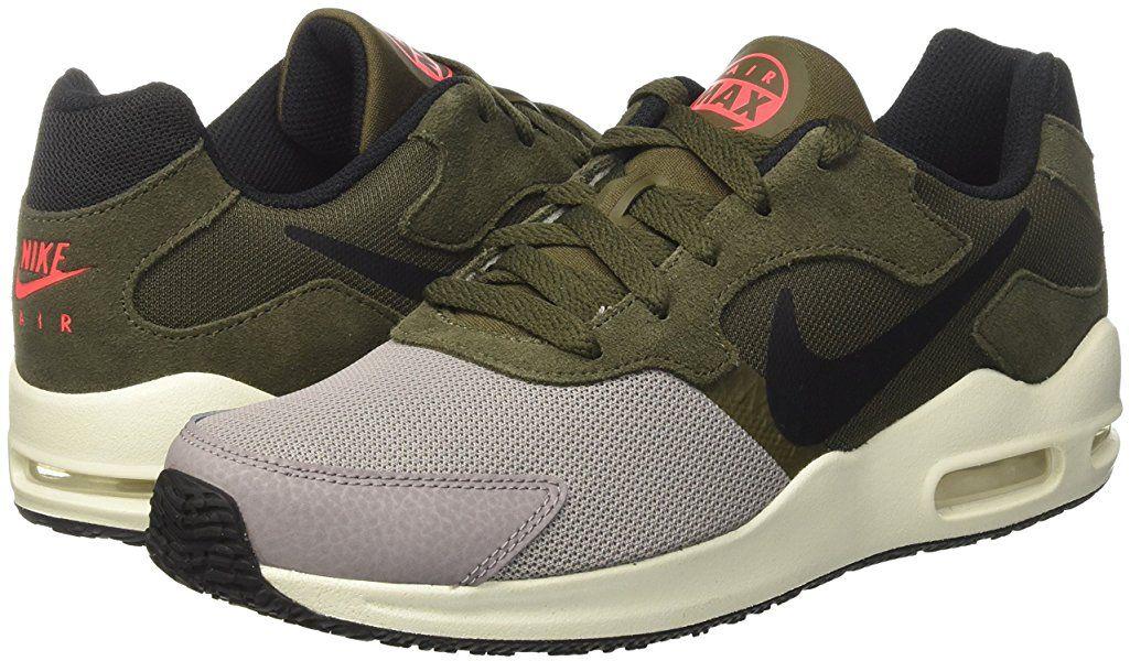 Nike Herren Air Max Guile Freizeitschuhe, Mehrfarbig (Dust/Black/Cargo Khaki/Solar Red/Sail), 42 EU: Amazon.de: Schuhe & Handtaschen