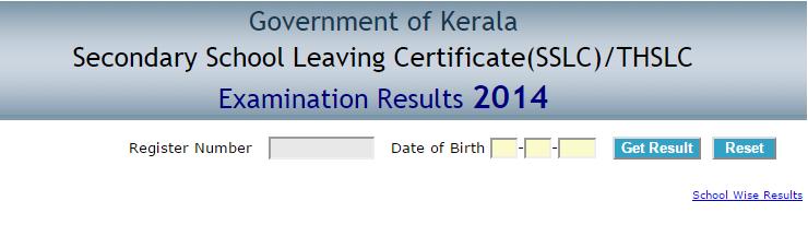 Kerala Sslc Result 2015 Check Kerala Sslc 10th Class Result