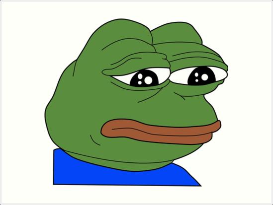 Pin Em Pepe Art Prints