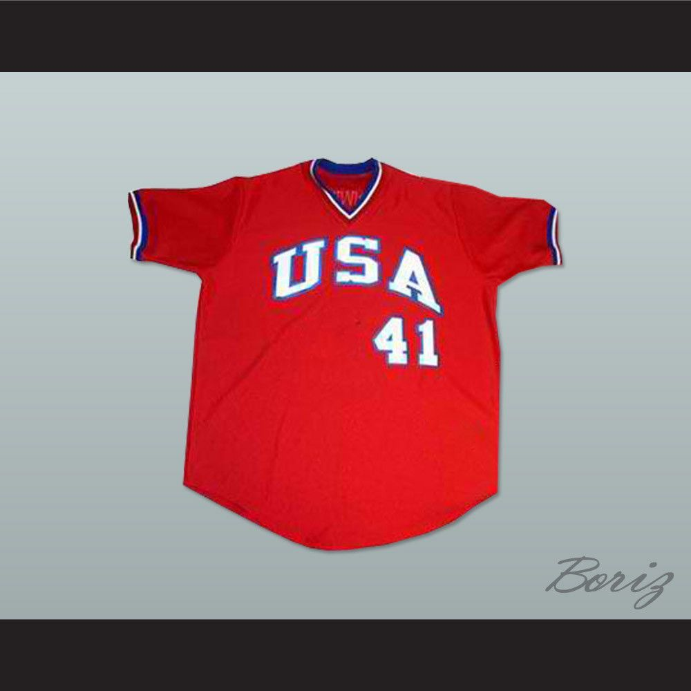 Mark McGwire USA Team Baseball Jersey New Any Size or Player ...