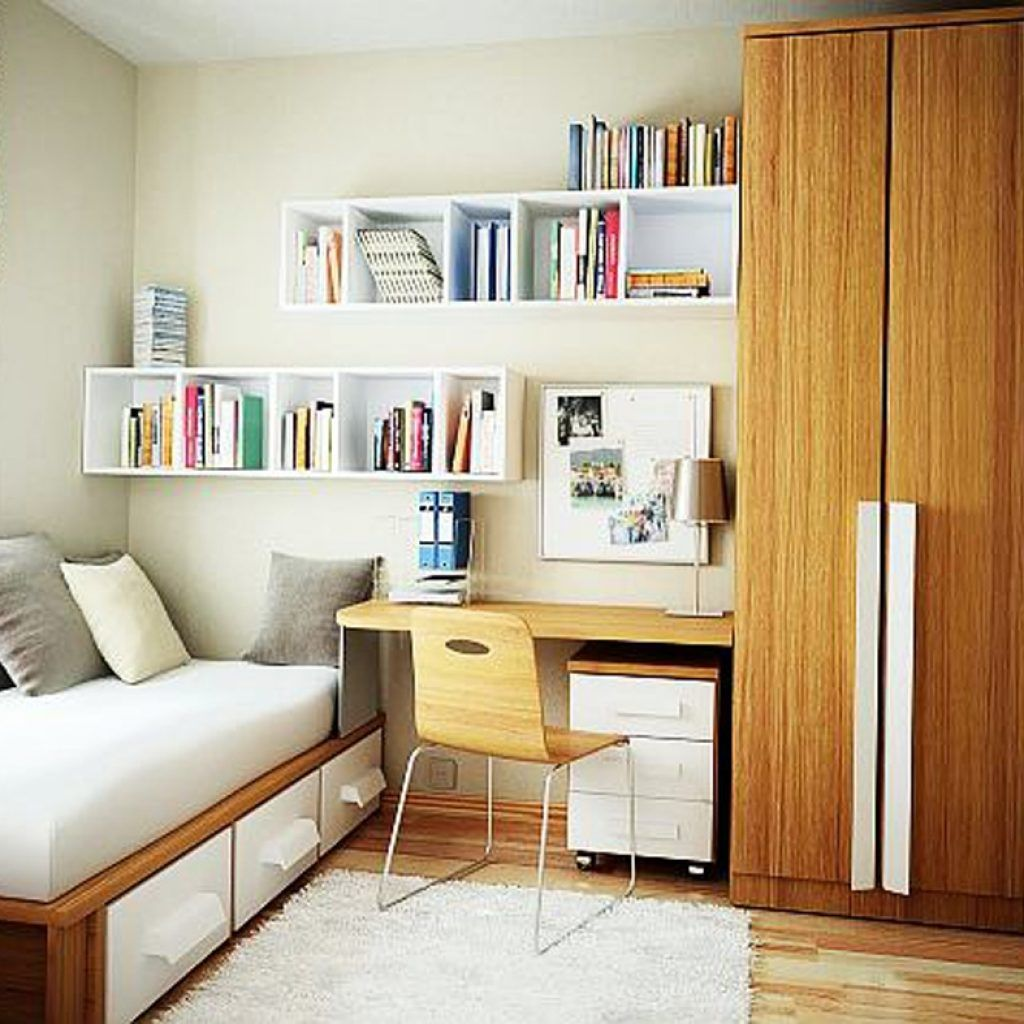 Master bedroom furniture layout  Small Bedroom Storage Ideas  Small Bedroom  Pinterest  Small